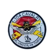 1.104 CAVALRY U.S.A Army Badge