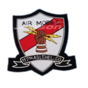 AIR MOBILE 117th  U.S.A Army Badge