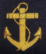 British Royal Navy Blazer Badge