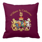 Bullion Wire Handmade Pillow Crest