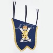 Bullion Wire Pipe Crest Banner