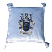 Embroidery Pillow Crest