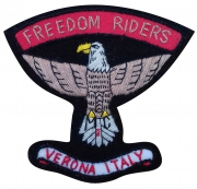 Freedom Rider Italy Motorcycle Club Badge