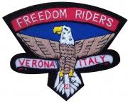 Freedom Rider Verona Motorcycle Club Badge