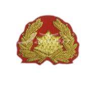 Gold Bullion wire Blazer Badge