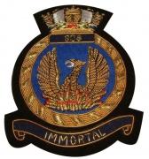 IMMPORTAL Navy Blazer  Badge