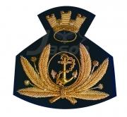ITALIAN HAT Navy Blazer Badges