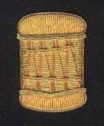 Major Drum Pipe Band Blazer Badge