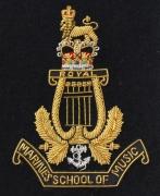 Marines School Music Blazer Badge