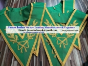 Masonic Scottish Rite Allied Degree Hand Embroidered Grand Collar,