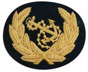 Navy Hat Blazer Badge