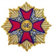 OE Metallic Thread Wire Blazer Badge