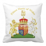 Pillow Prince Harry Bullion  Wire Crest
