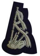 Pipers & Drummers Band Blazer Badge