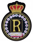 R Monaco Club Blazer Badge