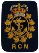 RCN Navy Blazer Badge