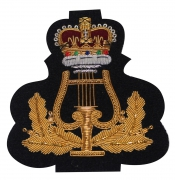 Royal Marines Music Band Blazer Badge