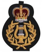 Royal Marines&Commando Band Blazer Badge