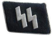 SS Officer's Handmade Collar Tab