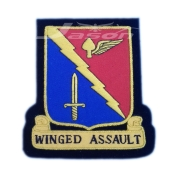 WINGED ASSAULT  U.S.A Army Badge