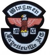 Wingman MC Motorcycle Club Badge