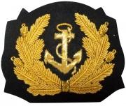 Women Hat Navy Blazer  Badge