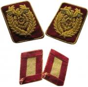 WW2 Embroidery Collar Tab