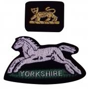Yorkshire Silver Bullion Wire Blazer Badge
